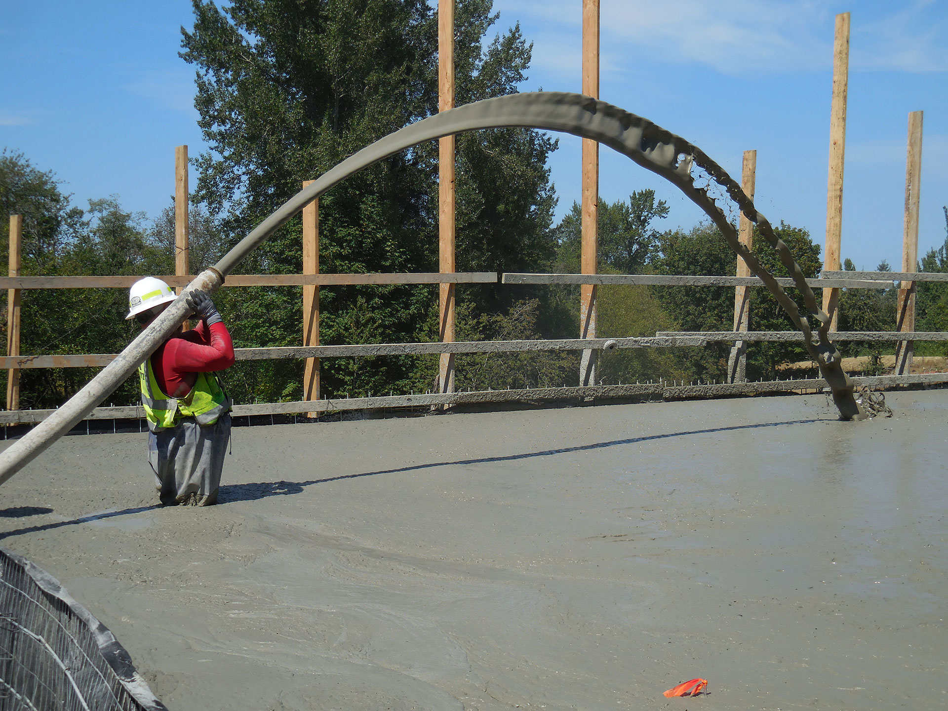Low Density Fill Concrete : Geotechnical services utilizing low density foamed